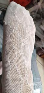 Girls adultos medias medias de piernas medias chicas retro letra panty-manguera blanco y negro color leggings mujeres panty-manguera calcetines