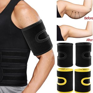 Men's Body Shapers Mens Slimming Belt Suana Effect Arm Slimmer Fitness Compression Sweat Bands Fat Burn Shapewear Shaper