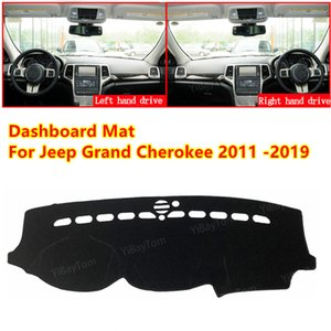 For Jeep Grand Cherokee WK2 2011-2019 Anti-slip Car Dashboard Cover Mat Sun Shade Pad Instrument Panel Carpets Accessories