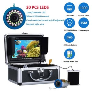 PDDHKK 7InCH LCD Smart Portable Fish Finder con sensor de sonar inalámbrico Cámara de pesca submarina para hielo / mar / de río