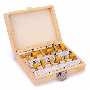 8mm Routeur Bit Set Set de coupe droite Fraison Coupe-bois Bivres de bois Tungstène Coupe du bois Tarcoration du bois JKKD2103