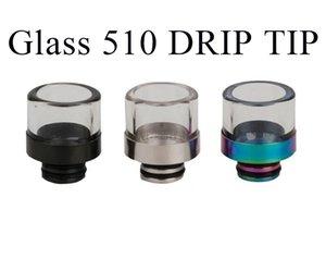 Vidrio colorido 510 acero inoxidable goteo de goteo de goteo de goteo de aceite anti-frito Paquete de seguridad de la punta de la punta DHL envío rápido