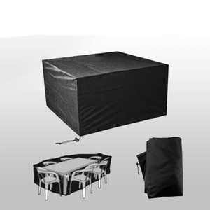 Waterproof Outdoor Patio Garden Furniture Covers Oxford Cloth Rain Snow Chair Covers for Sofa Table Dustproof JK2103KD
