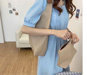 Приятные мягкие искусственные кожаные женские сумки на плечо емкость плетеная рука желтый ремешок сумка женское составное мешок кошелек и сумки хаки