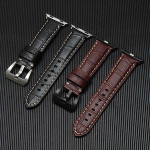 Vritable Watch Band Genuine Sport Boucle Bracelet Pour FitApple Serial 1 2 3 Bracelet Bracelet Style Classique 38mm 42mm