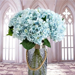 Rayon flower, hydrangea, bridal bouquet, home New Year decorations, wedding plant vases, cheap