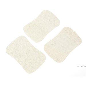 3 قطع مجموعة الطبيعية loofah غسل أطباق القماش فرك وسادة صحن وعاء وعاء سهلة لتنظيف الغسيل الإسفنج المطبخ نظيفة فرش فرك وسادة FWF5448