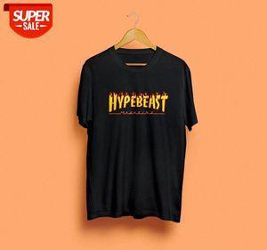 Sunfiz YF Hyppebeast Magazine Magazine Tshirt Powell New Shirt Unisex Fashion cotone top Casual Tops [lt; yuchegngt;] # mg0u