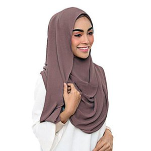 National style monochrome high grade pearl Chiffon sunscreen scarf extended shawl
