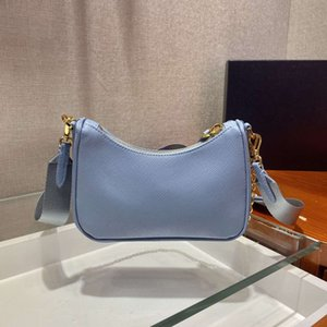 Luxury Multi Pochette mini nylon re edition 2005 pra shoulder gold chains pink genuine real leather hobo crossbody bag high quality handbags