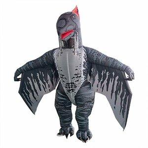T-rex Inflatable Dinosaur Costume Pterosaur Fancy Dress Adult Halloween mascot costume Suit