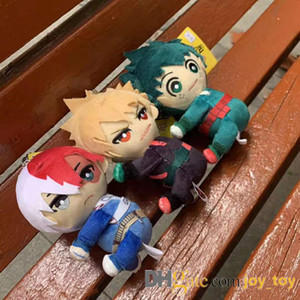 Mish My Hero Academia Zaino Cinghie 13 cm Peluche Peluche Clip On To Zaino Cinturini Midoriya Izuku Bakugou Katsuki Todoroki Shoto