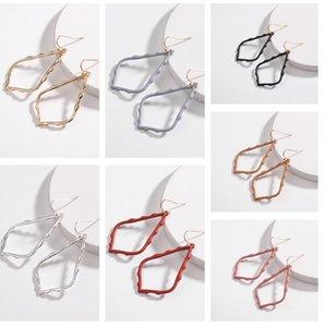 Kendra Style Sophee Alloy Frame Oval scott Earrings Fashion Dangle Earringsps0832