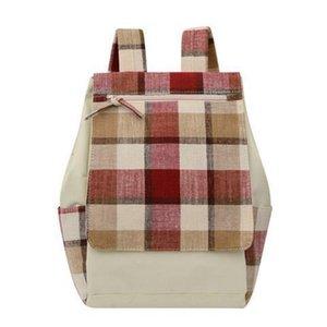 Chongsukei fêmea saco de lona mochila ulzzan estudante manta feminina versão fresca alta escola original estudante de ombro original vwbcu