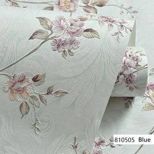 Avrupa Modern 3D Kabartmalı Arka Plan Duvar Kağıdı Oturma Odası Yatak Odası Şam Çiçek Duvar Kağıdı Rulo Masaüstü Dekor Duvar Kağıtları
