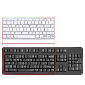 Bluetooth Wireless Keyboard for Tablet Laptop Smartphone Portable Travel Home Office Keypad Russian Spanish Korean English