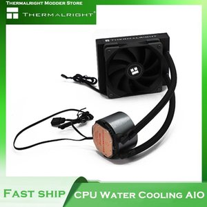 Fans & Coolings Thermalright Frozen Magic 120 AIO Kit CPU Cooler Metal Block+Pump+120Radiator+Fan For Intel AMD PC Water Cooling System