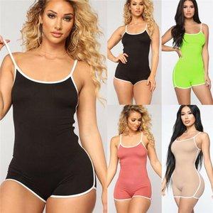 Hirigin أحدث 2021 النساء clubwear السراويل playsuit bodycon حزب بذلة مثير سيدة السروال القصير