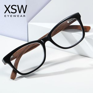 GM in legno Anti Blue Ray Glasses Glasses Computer Glasses Optical Eye UV Blocco Gaming Filtro Gaming Eyewear 1006