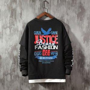2021 Новое правосудие Письмо Женщины Спортивные штаны С повседневными капюшонами Популярные печатные Шерстяные Человек Потрясающий Homme Одежда торговой марки FE9H