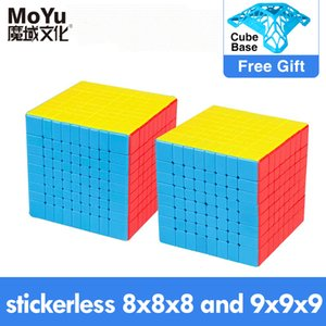 MOYU Magic Cube Speed 7x7 9x9 8x8 Cube Profissional Weilong Wr M Meilong GTS 3m Kit 6x6 Cube For Kids Toys Boys Puzzle