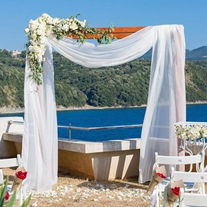 Curtain & Drapes DK Wedding Arch Drapping Fabric Party Chiffon Chair Cover Backdrop Drapery Ceremony Reception Swag