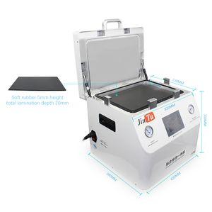 Jiutu 5 في 1 lcd touch screen oca فراغ آلة الترقق تغليف المدمج في ضاغط الهواء فراغ مضخة لا حاجة فقاعة المزيل