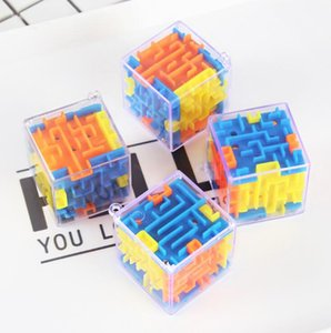 Puzzle Magic Cube Puzzle Maze Juguete Mano Juego Caja Caja Fun Brain Game Challenge Juguetes Balance Educativo Niños Adultos Alivio Estrés GWF5025