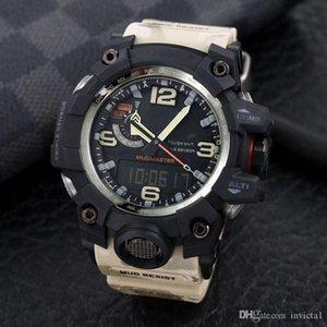 판매 1100 큰 진흙 킹 스포츠 디지털 남성 시계 캐주얼 전자 기능을 제시하는 모든 기능을 조작 할 수 있습니다