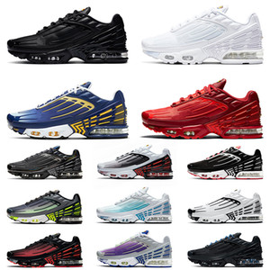 nike air max airmax tuned tn plus 3 Tuned Plus Tn 3 최고 품질 트리플 블랙 운동화 ALL White Deep Royal Topaz Gold Mens Womens Crimson Red Tns Trainers Sneakers