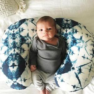 Эластичный кормление кормящих наволочковки ребенка удобный U в форме мультфильм печатная подушка детская подушка для подушки WY369