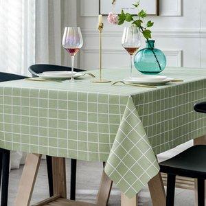 Table Cloth Nordic Tafelkleed Rechthoekige Keuken Geborduurd Eettafel Dekken Party Bruiloft Haard Aanrecht Decoratie