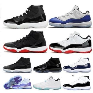 TOP NUOVO 25 ° ANNIVERSARIO 11CONCOD 11 Spazio Jam 11s Prom Night 11 Shoes White Shoes Top Quality Gym Red Gamma Blue Basket Scarpe