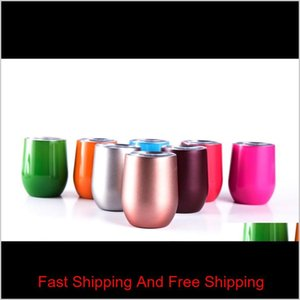 12oz Stainless Steel Tumbler Vacuum Insulated Coffee Thermos Mug 6oz Kids Cup Tr qylitc mj_fashion