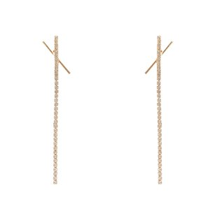 Earrings jewelry dangles stud Fashion Multiple design Styles can be mixed bought S925 Sterling Silver Needle Popular High-Grade All-Matching Long Retro lovely cute
