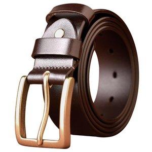 Cinture 2021 Moda Belt da uomo Giovane e di mezza età Business Casual Denim Semplice Wild Retro Pants Trend
