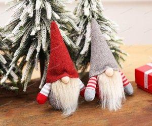 Christmas Handmade Swedish Gnome Scandinavian Tomte Santa Nisse Nordic Plush Elf Toy Table Ornament Xmas Tree Decorations