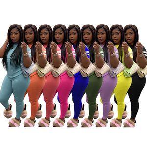 women brand designer tracksuit short sleeve outfits shirt pants 2 piece set sportswear hoodie leggings sport set shirt trousers hot klw3628