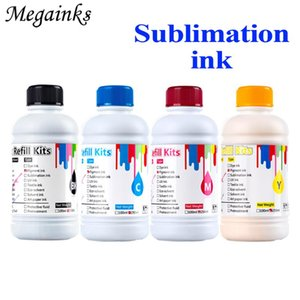 Ink Refill Kits 250m Universal Sublimation For Desktop Inkjet Printer Heat Transfer Mug Cup TShirt Clothe