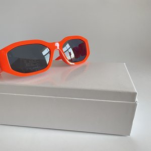 Designers Sunglasses For Women Irregular Hexagon Uv Protection Retro Full Frame Glasses Green Yellow Orange Classic Eyewear