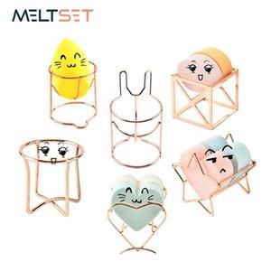 Meltset Makeup Puff Rack Sponge Holder Beauty Makeup Powder Puff Blender Storage Rack Drying Hanger Sponge Drying Stand Holder