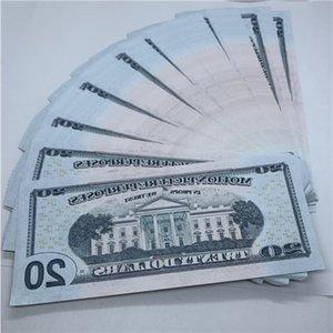 Shooting Atmosphere TV Counterfeit La-042 1 Fake 20 Money Billet Bar Film Hot And Props Dollar Prop Csjci Dliql