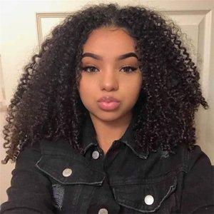 Alinybeauty 11A Unprocessed 100% Cuticle Aligned Brazilian Virgin Human Hair Kinky Curly Hair Extensions Bundle