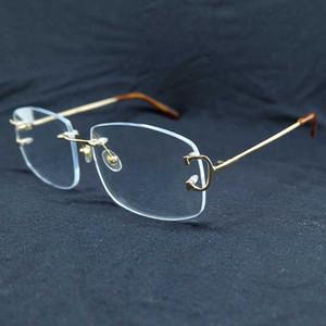 OFF 70% Fashion Clear Glass Carter Accessories for Women Fingerprint Random Square Optical Glasse US2B