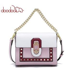 Multifunction Women Bags Fashion Handbag Designer Ladies Shoulder Bag Youth Flap Sweet Wind Genuine Leather Crossbody 8815