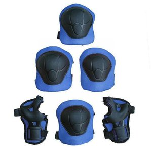 Elbow & Knee Pads Children's Helmet Protective Gear, Roller Skate ,knee Set 7-piece Pads, Guard H7l4
