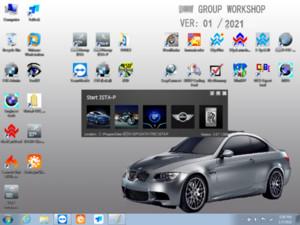 2021.01 Mais novo software para BMW ICOM Próximo HDD 500GB para ICOM A2 A3 Next Mode Especialista (ISTA D 4.27.20 ISTA P 3.67) Para 95% laptops
