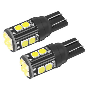 2Pcs New T10 W5W WY5W 168 921 501 2825 Super Bright LED Car Interior Reading Dome Lights Auto Parking Lamp Wedge Tail Side Bulbs