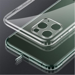 2021 Thin transparent Soft TPU Phone Case Gel Crystal Shockproof Back Cover with Dust Plug for iphone 12 mini 11 pro X XS Max XR 7 8 plus