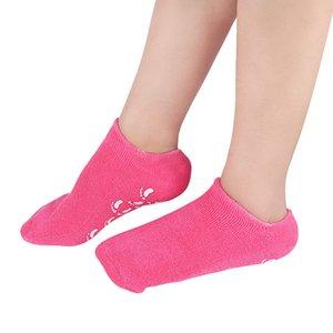 1Pair de alta qualidade hidratizar reparação suavemente reparação rachada pele gel meia pele cuidado tratamento tratamento spa sock cuidados de saúde protetores